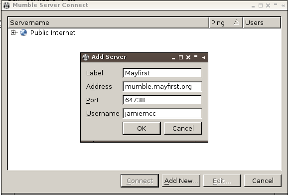 mumble-desktop – Support